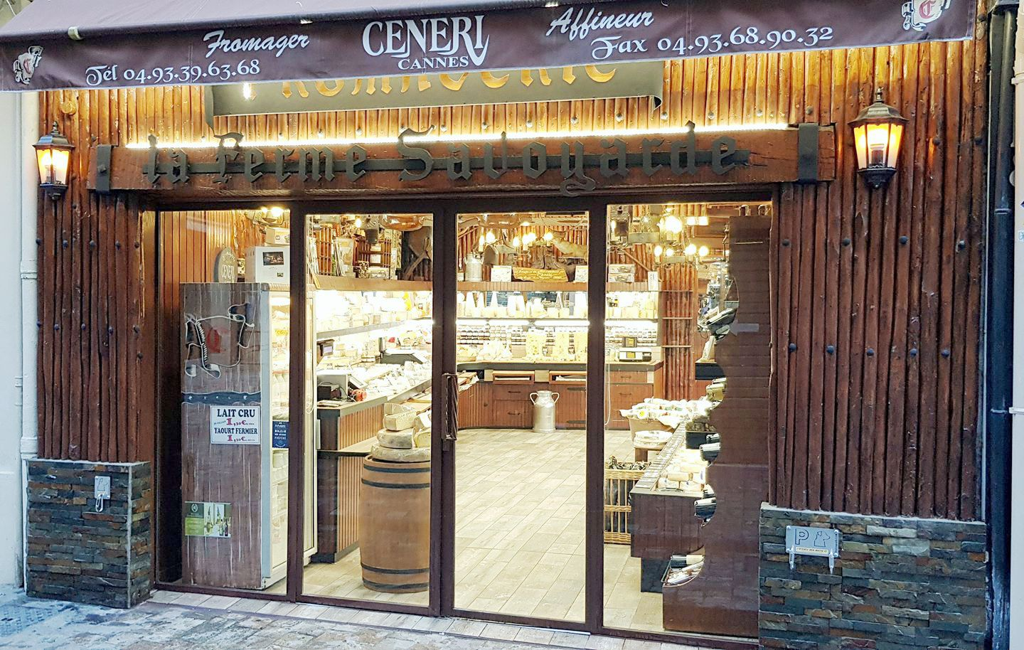 CENERI - fromagerie - cannes